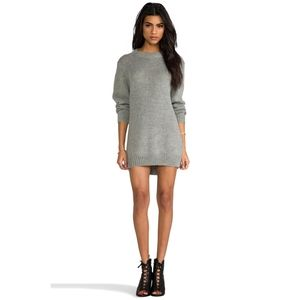 Cheap Monday Grey Sweater Dress From Nasty Gal